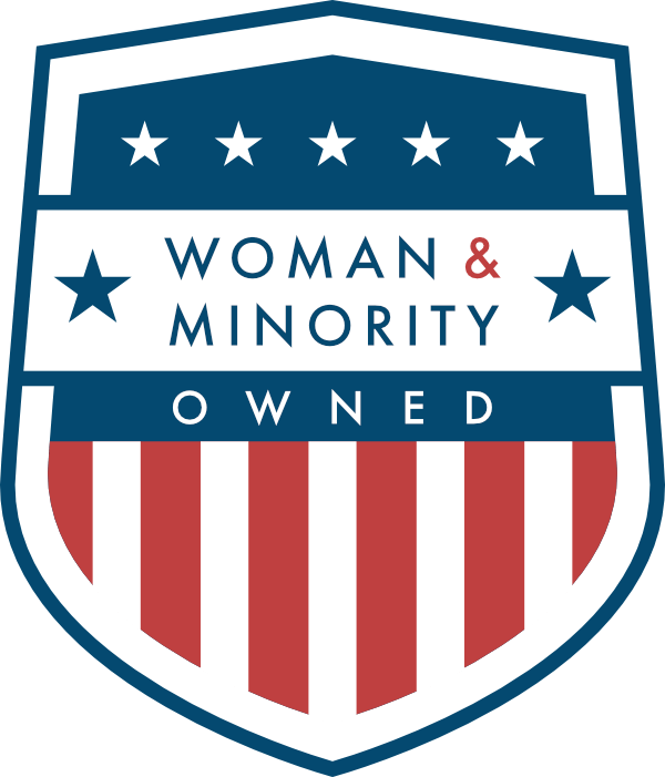 Woman and Minority Owned Badge